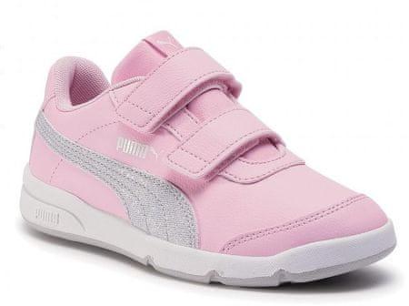 Puma Stepfleex 2 SL VE GlitzFS V PS 19362103 lány sportcipő, 31.0, rózsaszín
