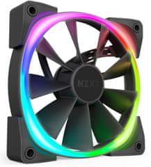 NZXT Aer RGB 2 ventilator za ohišje, 140 mm (HF-28140-B1)