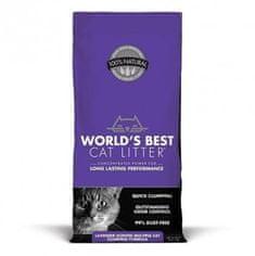 World's Best żwirek dla kotów o zapachu lawendy Lavender 12,7 kg
