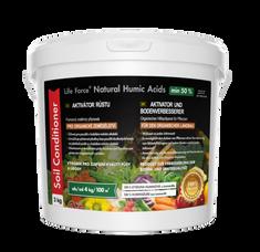 Life Force Natural Humic Acids pro organické zemědělství, organické hnojivo na zeleninu. Akční set 2 x 3 Kg
