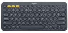Logitech K380 Multi-device Bluetooth brezžična tipkovnica, temno siva