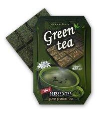 Růžová čajovna - PT Lisovaný zelený Jasmínový čaj, 70g