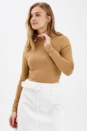 b.young ženski pulover Pamila 20802565, XS, rjav