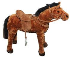 John Velký plyšový kůň, stojící
