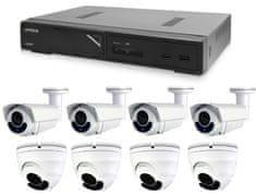 Avtech Komplet kamer 1x NVR AVH1109, 4x 5MPX IP Dome kamera DGM5406ASE in 4x 5MPX IP Bullet kamera DGM5606 + 8x UTP kabel 1x RJ45 - 1x RJ45 Cat5e 15m!