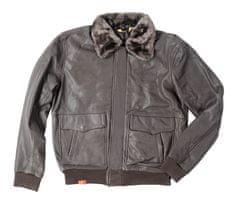 Rusty Pistons kožená bunda Shearling Aero brown
