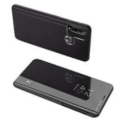 MG Clear View knížkové pouzdro na Huawei Y6p, černé