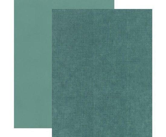 Kraftika Texturovaná čtvrtka a4 vintage mořská zelená 220g/m2