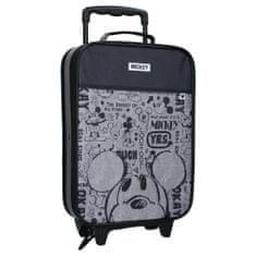 """Vadobag Gyerek utazási bőrönd kerekeken """"Mickey egér"""" - fekete"""