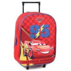 """Vadobag Gyerek utazási bőrönd kerekeken """"Verdák 95"""" - piros"""