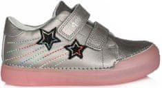 D-D-step dievčenská fluorescenčná obuv 068-324
