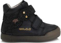D-D-step dievčenská fluorescenčná obuv 068-65
