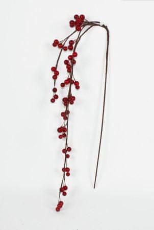 DUE ESSE Dekoracja świąteczna, gałązka jarzębiny 90 cm