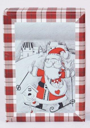 DUE ESSE komplet 3 božičnih škatel, 3 velikosti
