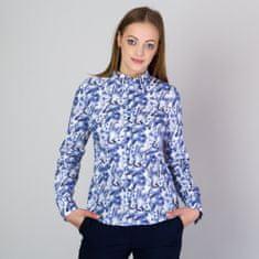 Willsoor Dámská košile se vzorem modrých motýlů 11753