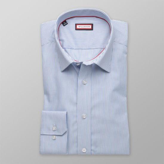 Willsoor Pánská slim fit košile 8243 s proužky