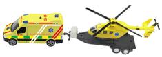 MaDe Mentő és helikopter fényekkel és hangokkal
