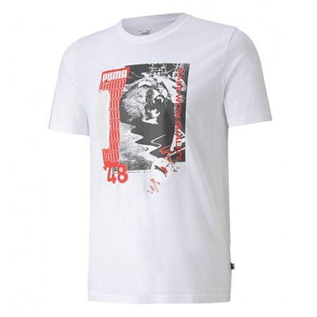 Puma Koszulka Photo Tee White, 584516 | 02 | XL