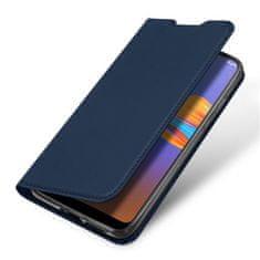 Dux Ducis Skin Pro knížkové kožené pouzdro na Motorola Moto E6 Plus, černé
