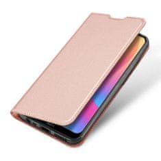 Dux Ducis Skin Pro knížkové kožené pouzdro na Xiaomi Redmi 8A, růžové
