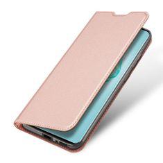 Dux Ducis Skin Pro knížkové kožené pouzdro na Samsung Galaxy S10 Lite, růžové