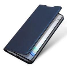 Dux Ducis Skin Pro knížkové kožené pouzdro na Samsung Galaxy Note 10 Lite, modré