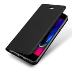 Dux Ducis Skin Pro knížkové kožené pouzdro na iPhone 7/8/SE 2020, černé