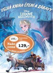Ledové království 2 Velká kniha čtení a zábavy