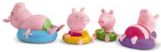 TM Toys Peppa Pig Figúrky do kúpeľa, 4 ks