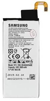 SAMSUNG EB-BG925ABE Baterie Li-Ion 2 600 mAh (Service Pack) GH43-04420B