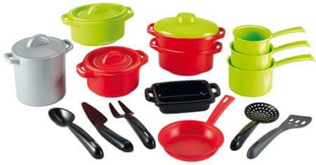 Ecoiffier komplet kuhinjskih pripomočkov