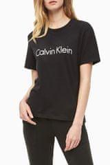 Calvin Klein črna ženska majica S/S Crew Neck - XS