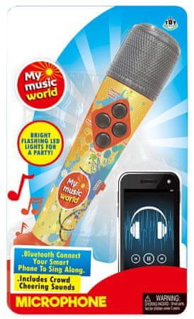 MaDe mikrofon na baterije