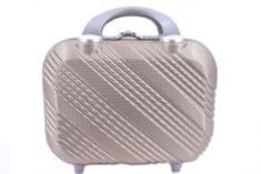 Arteddy Kosmetický palubní příruční kufr Arteddy malý - vínová