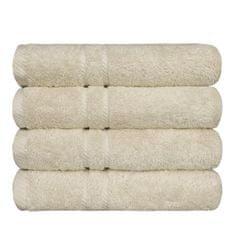 SCANquilt ručník COTTONA smetanová