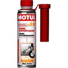 Motul DIESEL SYSTEM CLEAN Čistící přípravek do dieselových motorů, do paliva, 300 ml