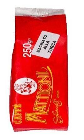 Mattioni mleta kava, za turško kavo, rdeča, 250 g