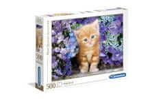 Clementoni puzzle 500 HQC, ginger cat (30415)