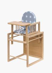 COSING jedilni stolček Viktoria - Zvezda, bukev