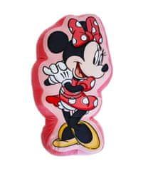 """SETINO 3D gyerek párna """"Minnie egér"""" - 37x24 cm - rózsaszín"""