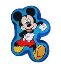 """SETINO 3D gyerek párna """"Mickey egér"""" - 37x24 cm - kék"""