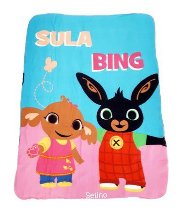 """SETINO Gyermek takaró """"Bing"""" - 100 x 140 cm rózsaszín"""