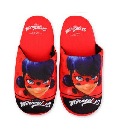 """SETINO Lányos papucs otthon """"Miraculous"""" - piros - 31/32"""