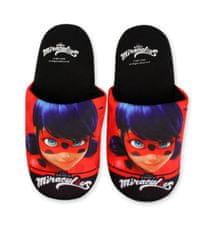 """SETINO Dievčenské papuče na doma """"Miraculous""""- čierna"""