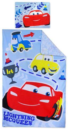 """SETINO Otroška posteljnina """"Cars"""" - 90x140, 55x40"""