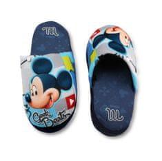 """SETINO Chlapčenské papuče na doma """"Mickey Mouse"""" - modrá"""