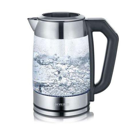 SEVERIN WK 3477 Czajnik szklany / dzbanek do herbaty, ok. 2200 W, ok. 1.7, WK 3477 Czajnik szklany / dzbanek do herbaty, ok. 2200 W, ok. 1,7 L (woda) / 1,5 L (herbata)