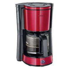 SEVERIN KA 4817 kávovar nerez červený 1000W, KA 4817 kávovar nerez červený 1000W