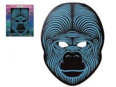 Gorily led maska svietiace - HALLOWEEN - 27 x 20 cm
