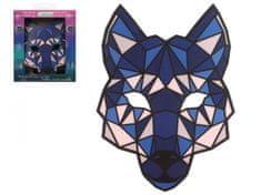VLK led svietiace maska - HALLOWEEN - 28 x 20 cm